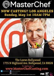 Fox     s MasterChef is on a national amateur culinary talent search  MasterChef is coming to Los Pinterest
