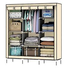 "OUMYJIA 69"" <b>Non</b>-<b>woven</b> Fabric Wardrobe <b>Portable Clothes</b> Closet ..."