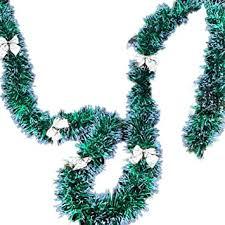 loinhgeo 200cm <b>Christmas</b> Wreath Bowknots Balls <b>Garland Tree</b> ...