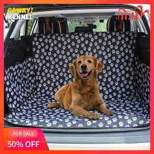 CAWAYI KENNEL Pet Carriers Dog Car <b>Seat Cover Trunk</b> Mat ...