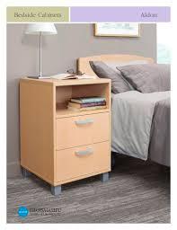Aldon <b>Bedside Cabinets</b> - Global Care - PDF Catalogs | Technical ...