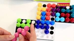 <b>Логическая игра BONDIBON</b> SmartGames Квадриллион - YouTube