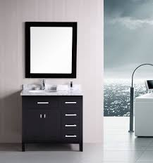 styles bathroom base cabinets designspecial image of astonishing menards bath vanity cabinets using black paint fi
