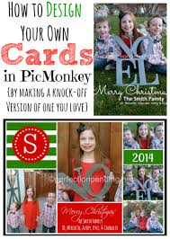 how to create your own christmas card in picmonkey perfection so i thought i d do a couple of simple tutorials to help you design your own christmas card or a birthday invite baptism announcement baby announcement