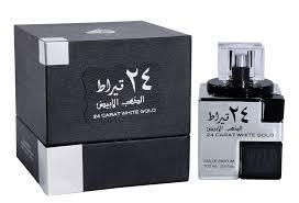 <b>24 Carat White</b> Gold - Eau De Parfum (100 ml - 3.4Fl oz) by <b>Lattafa</b>