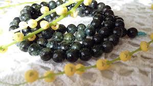 <b>Турмалин зеленый бусины</b> (<b>Верделит</b>) – купить на Ярмарке ...