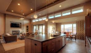 Kitchen And Dining Room Design Dining Room Kitchen And Living Room Layoutjpg Drum Shade Ceiling