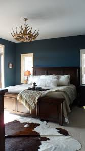 ideas light blue bedrooms pinterest: this is alright its a rustic contemporary looking bed room i don