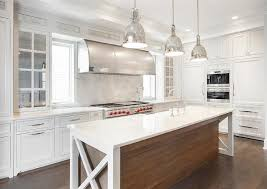 two tone kitchen island with sink
