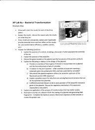 molecular genetics genetic tec 6b completed lab 6b analysis handouts handwritten fruit fly lab