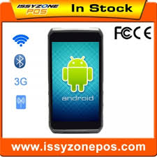 High Quality Touch Screen Android Pda Barcode Scanner 1D 2D ...