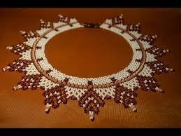 Glitz & Glamour <b>Asymmetric seed bead</b> necklace | How to make ...