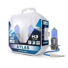 Комплект галогенных <b>ламп AVS ATLAS</b> PB <b>H3</b> (A78907S) 2 шт ...