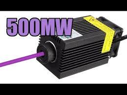 <b>Purple 405nm 500mw</b> Laser Module Review - YouTube