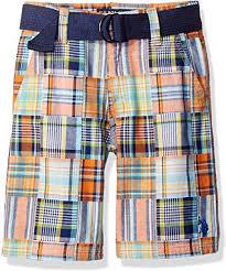 <b>U.S Polo</b> Assn Boys Big Belted Cargo Short