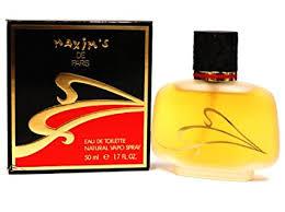 MAXIMS DE PARIS Perfume. EAU DE TOILETTE ... - Amazon.com