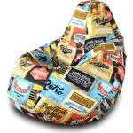 Купить <b>Кресло</b>-<b>мешок Груша Пазитифчик</b> Лейбл 01 недорого в ...