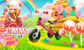 <b>Small Rider Jimmy</b> - алюминиевый <b>беговел</b> для малышей 2 в 1