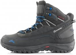 <b>Ботинки утепленные</b> мужские Outventure Highfrost черный/<b>синий</b> ...