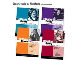 opening doors to post secondary education and training planning opening doors bundle in english transition resources for students disabilities planning for life after high school