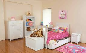 bedroom kid: kids bedroom furniture sets in white made of wood combined with pink bed sets and