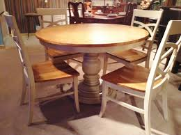 Round Dining Room Furniture Home Design Round Dining Room Table Rustic Midcentury Large Diy