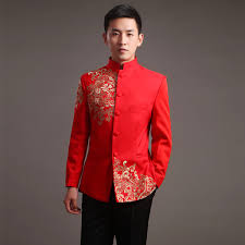 2019 <b>Modern Cheongsam Top Vestido</b> Oriental Traditional Groom ...