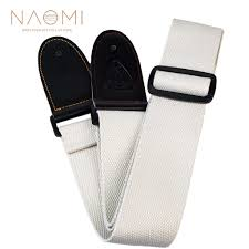 <b>NAOMI Guitar Strap</b> PU End Guitar Accessories <b>Adjustable</b> Shoulder ...