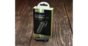 Bluetooth-<b>гарнитура E36 Free</b> sound business <b>HOCO</b> черная ...
