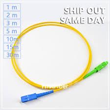 SC APC/SC UPC fiber Optical Patch Cord Fiber Optic Patch Cable ...