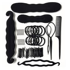 79Pcs/Set Hair Accessories Braider Donut Hair Clips For   Shopee ...