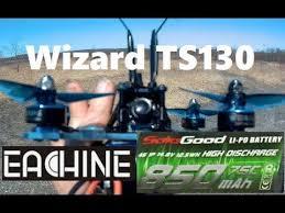 Eachine Wizard TS130 FPV Racing Drone <b>SoloGood</b> 850 mAh 4s ...