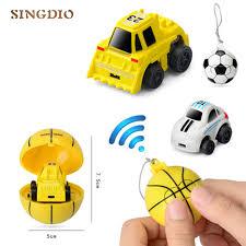 <b>2.4G Mini football remote</b> control Car Q version Two links Remote ...