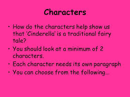 cinderella critical essay question the question is the focus for  characters how do the characters help show us that cinderella is a traditional fairy