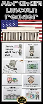 best ideas about abraham lincoln facts abraham simple abraham lincoln predictive reading text activity for students to reinforce their color words and be if i were president