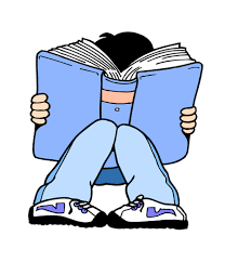 Image result for clipart child reading a book