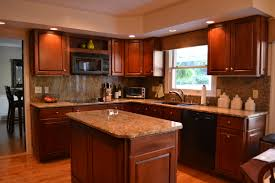 cabinets ideas kitchen color with oak and black heavenly scheme for pictures office design trends black color furniture office counter design