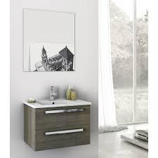bathroom vanity oak ceramic sink