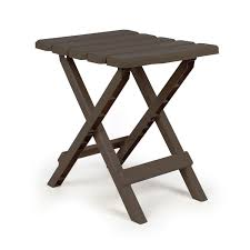 Camco Adirondack Portable <b>Outdoor Folding</b> Side <b>Table</b>, Perfect for ...