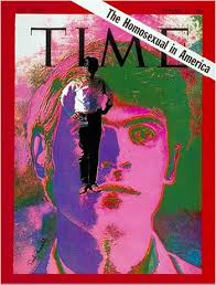 time magazine  circa   homosexuality     a pernicious sickness    as you would imagine  the ideas presented in the article would now be considered arcane  but in order to understand the strides we have made as individuals