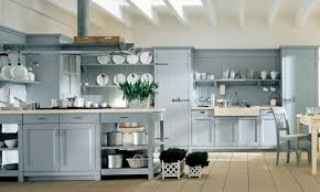 beauteous light blue country kitchen in white house interior with kitchen table combining appliances racks also archaic kitchen eat