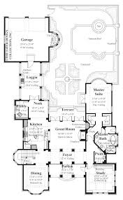Edmonton   Floors  Court Yard and House Floor Plans PLAN       The Gabriel House Plans First Floor Plan   House Plans by Designs Direct