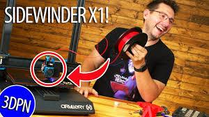 The <b>Artillery3D Sidewinder</b> X1 <b>3D Printer</b> - A Must Have? - YouTube