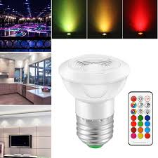 <b>RGBW</b> LED Bulb 3W <b>E27</b> GU10 Stage/Cieling Lamp Aluminum ...