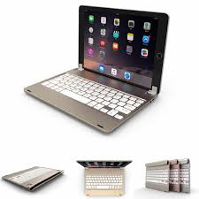 <b>360</b> degree Aluminum Bluetooth Keyboard Protective Case with ...