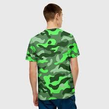 <b>CAMOUFLAGE</b> GREEN <b>Мишка</b> в <b>футболке</b> 3D с принтом за 1640 ...