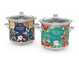 The Pioneer Woman Fiona Floral and Vintage Floral 1.5-Quart Slow ...
