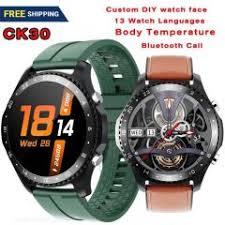 <b>CK30 Smartwatch</b> Body Temperature Bluetooth Call Waterproof ...