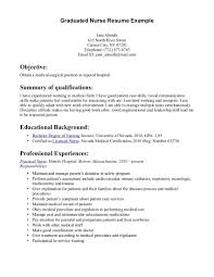 graduate student resume examples sample resume for undergraduate graduate student resume examples nursing graduate resume getessayz images nursing graduate resume