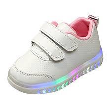 Jieson Baby Girs Led <b>Light</b> Shoes Boys Soft <b>Luminous Outdoor</b> ...